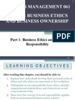 Topic 2 Business Ethics and Business Ownership