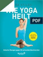 Wie Yoga Heilt - Einfache Übungen Gegen 50 Verbreitete Beschwerden