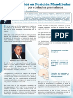 """""""Cambios en posición mandibular por contactos prematuros"""" Dr Enrique González García (México)"""