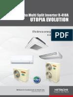 Cat Utopia Evolution R410A UTO2002 FEV 2014