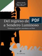 Del Regreso Del Inca a Sendero Luminoso - Aranda, Gilberto (Et Al.)
