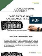 Presentacion Normas APA