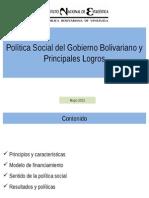 Presentación Bolivariana
