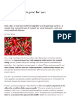 Why Spicy Food is Good for You _ Healthy Eating _ Best Eats _ Best Health