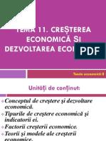 Cresterea  Economică Și Dezvoltarea Economică.