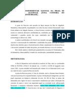 Estudo Sedimentológico Sazonal Da Praia de Fortalezinha (Maracanã - PA)