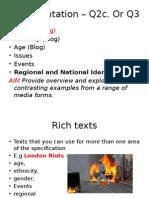 Final Regional and National identity (London, Essex, Cornwall)