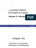 Chapter 6 The Ethics of Consumer  Production and Marketing