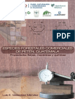 Especies Forestales de Peten Catalogo