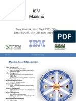 2011 10 27 COBieChallenge2011 IBM Maximo