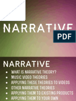 Narrative Theory Revision