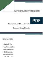 Asfalto y Materiales Bituminosospp
