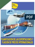 PLANIFICACIÓN DE LAS EXPORTACIONES Y FIJACIÓN DE PRECIOS INTERNACIONALES