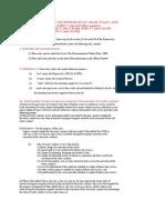 St Determtn Value Rules 1