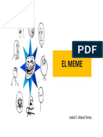 ¿Qué es un meme?