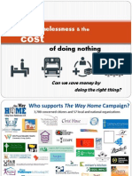 Chronic Homelessness and the Cost of Doing Nothing Final