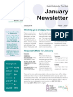 South Westminster Time Bank Newsletter January 2014