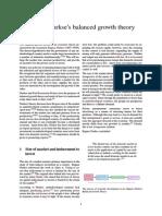 Wiki. Ragnar Nurkse's Balanced Growth Theory