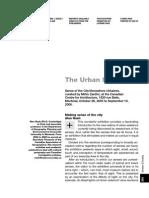 The Urban Sensorium
