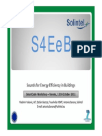 Sounds for Energy Efficiency in Buildings