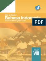 SMP Kelas 8 Bahasa Indonesia Wahana Pengetahuan (Buku Siswa)