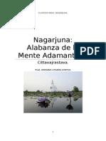 Nagarjuna Alabanza de La Mente Adamantina.