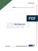 SNI 2052-2014 Baja Tulangan Beton