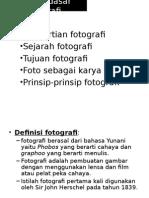 Ke-5a Teknik Fotografi Definisi