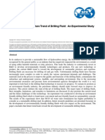 State of Art and Future Trends of Drilling Fluid an Experimental Study