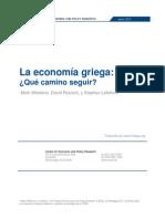 La economía griega