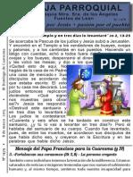 Hoja Parroquial nº 1479 8 marzo 2015