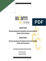 ASCAMM-Jornada-tecnica 5 de Junio