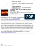 Approximate Design and Costing Methods for Heat Exchangers