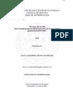 Antropologia Guatemalteca, 2015 Upana