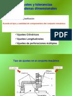 Metro Clase14 Ajustes y Tolerancias Cadenas Dimesionales