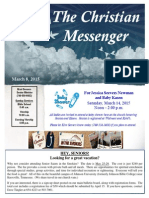 March 8 Newsletter