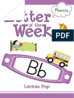 Phonics Letter of the Week b Free