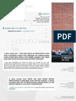 Casas de Paz 2013 - Estudo 1