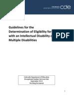 guidelinesfordeterminationeligibility id md