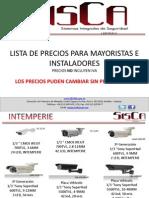 Lista de Productos Enero 2014 Sisca