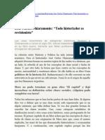 José Carlos Chiaramonte - Todo Historiador Es Revisionista