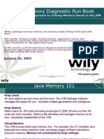 Java Memory Diagnostic Run Book