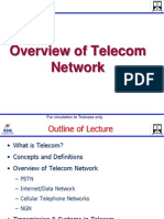 Overview of Telecom Network