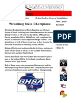 PCSD Athletic Adventures March 6, 2015