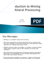 Intro to Mineral Processing