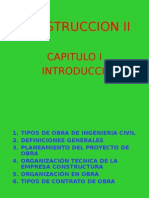 Construccion II-cap i - Introduccion