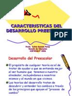 #1 Caracteristicas Des. Preescolar