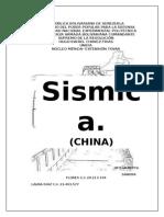 Informe de Sismos en China!!