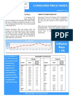 Consumer Price Index - Jan 15