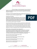 Endometriosis, Fertility and Pregnancy
